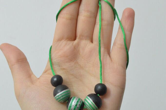 #elretopinterest III: Collar de bolas
