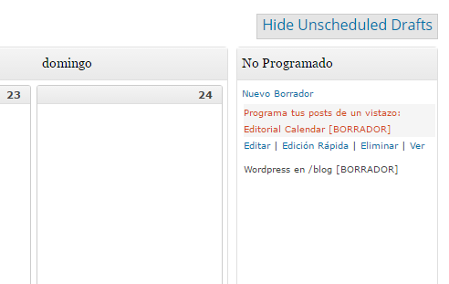 05 - Organizar borradores de WordPress